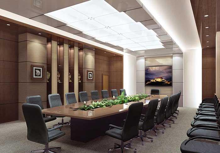 Mang thiên nhiên vào thiết kế phòng họp