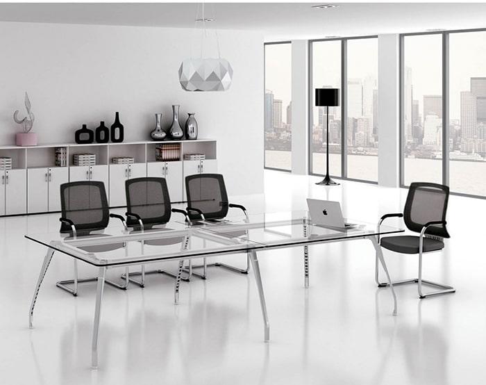 Thiết kế phòng họp hiện đại với không gian mở