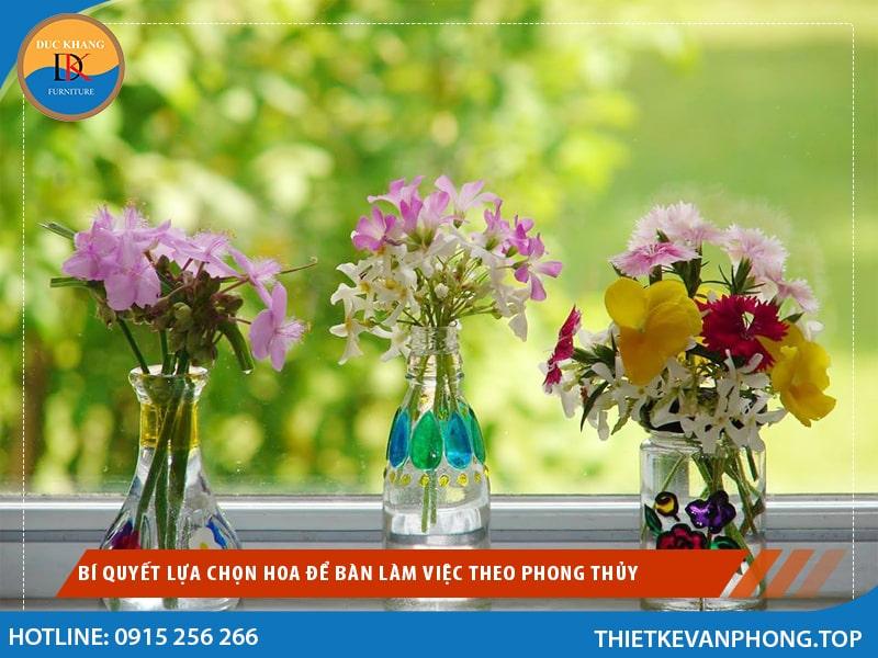 Bí Quyết Lựa Chọn Hoa để Bàn Làm Việc Theo Phong Thủy
