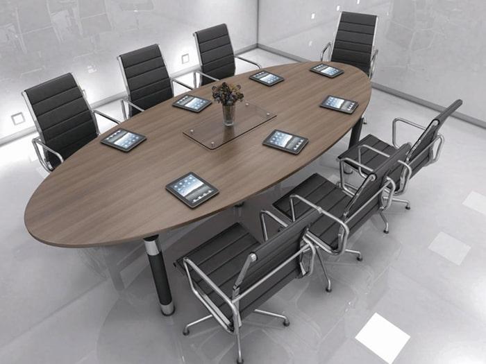 Bàn họp 6 chỗ ngồi cần phải đáp ứng được những tiêu chí cơ bản trong phòng họp