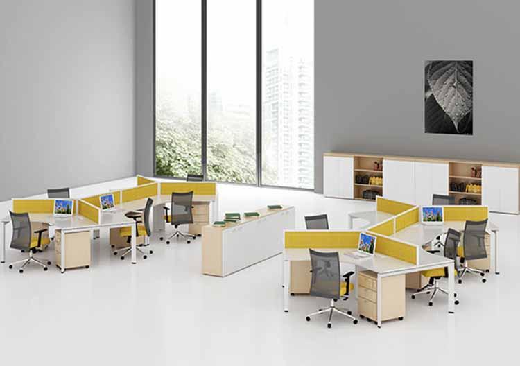 Bố trí không gian hợp lý để tạo sự thoải mái và chuyên nghiệp cho văn phòng