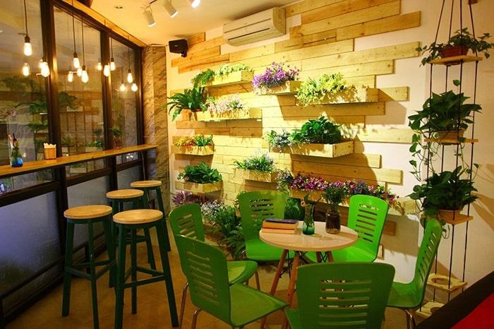 Sử dụng nội thất đáng yêu cho quán ăn vặt