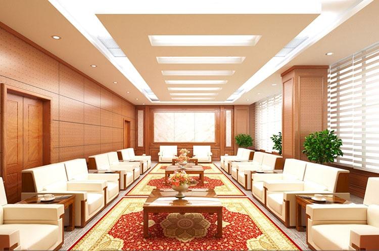 Thiết kế nội thất bên trong phòng khánh tiết