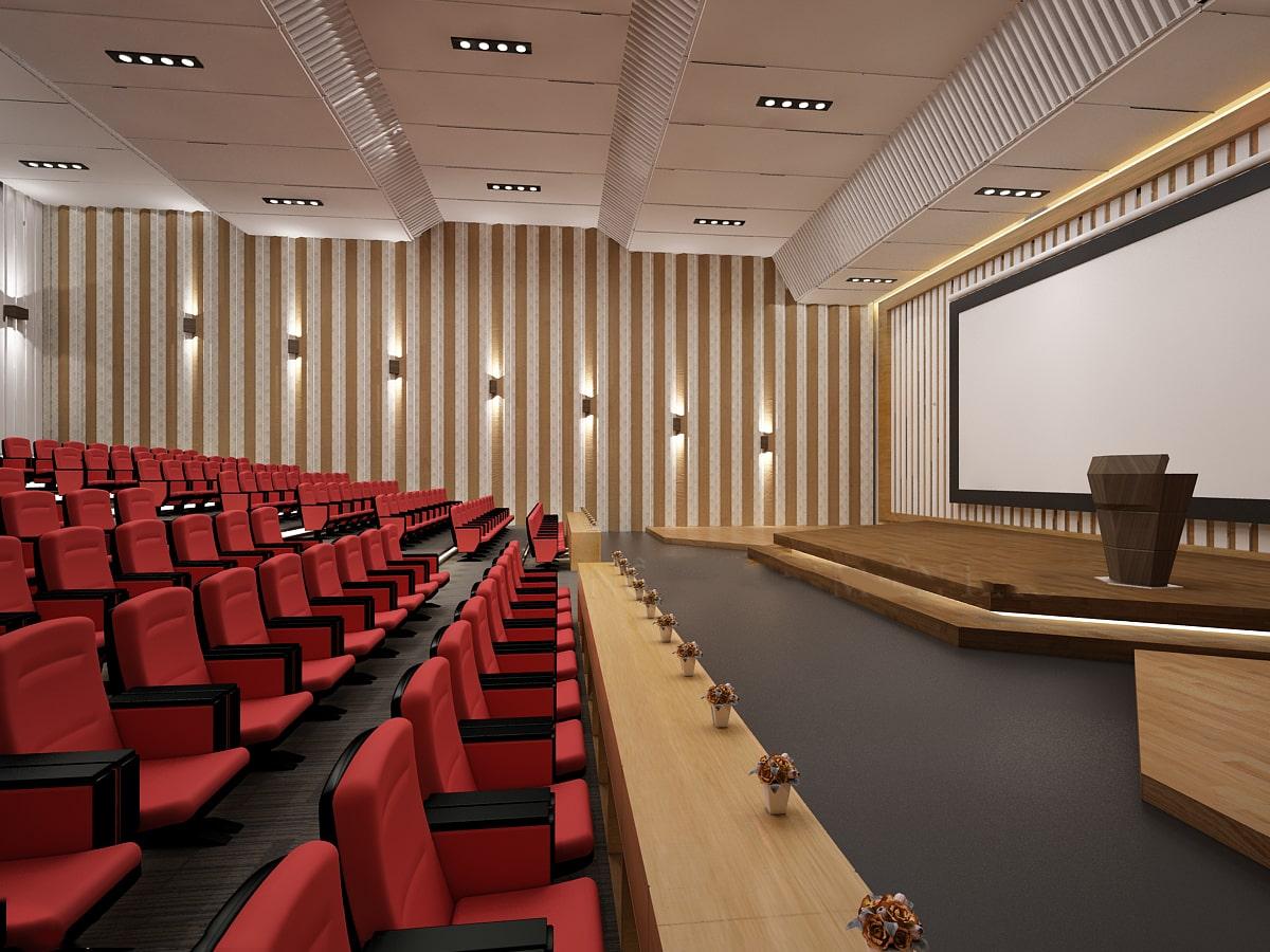 Khoảng cách từ sân khấu đến hàng ghế ngồi cho khán giả
