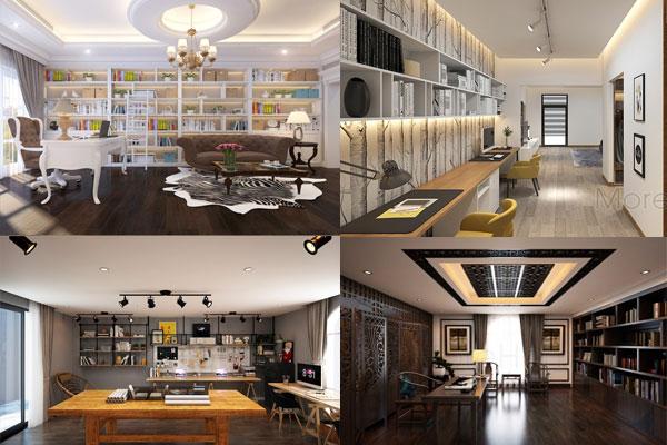 Mẫu thiết kế văn phòng kết hợp cùng nhà ở