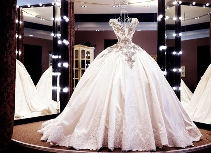 Thiết kế nội thất studio áo cưới đẹp