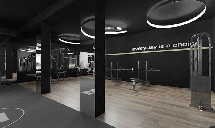 Văn phòng thiết kế màu đen
