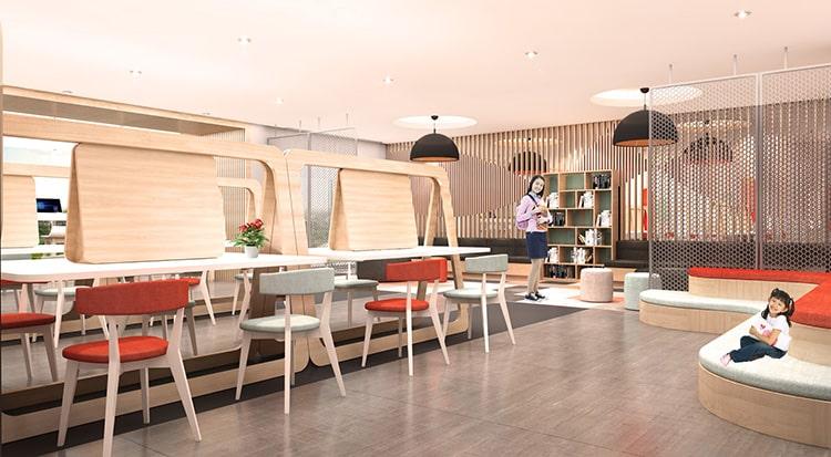 Sử dụng nội thất nhỏ gọn cho phòng làm việc đa năng