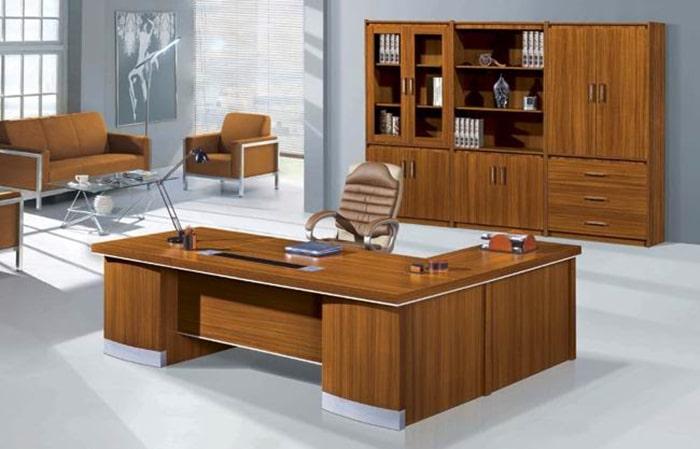 Bàn làm việc cao cấp nhưng đơn giản là lựa chọn hàng đầu của dân văn phòng