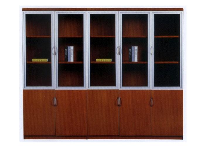 Màu sắc và chất liệu của tủ tạo nên tính thẩm mỹ cho văn phòng