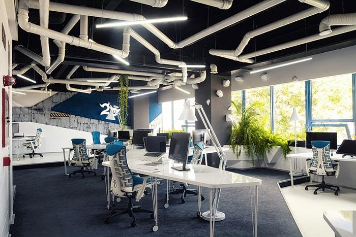 Mẫu trang trí nội thất cho phòng thiết kế