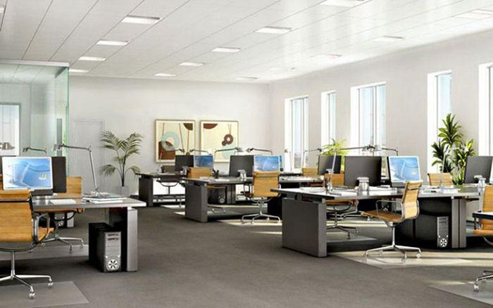 Tiêu chuẩn kích thước thiết kế văn phòng