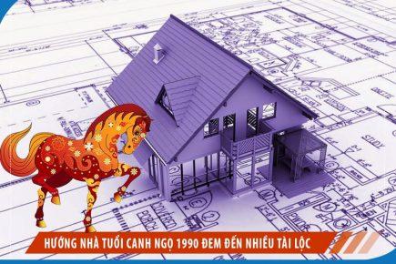 Hướng Nhà Tuổi Canh Ngọ 1990 đem đến Nhiều Tài Lộc