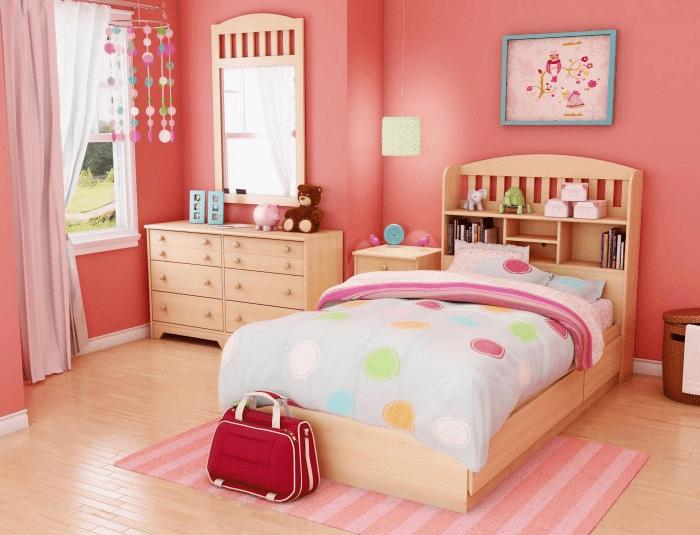 Gam hồng - đỏ phù hợp với phòng ngủ tuổi Canh Ngọ