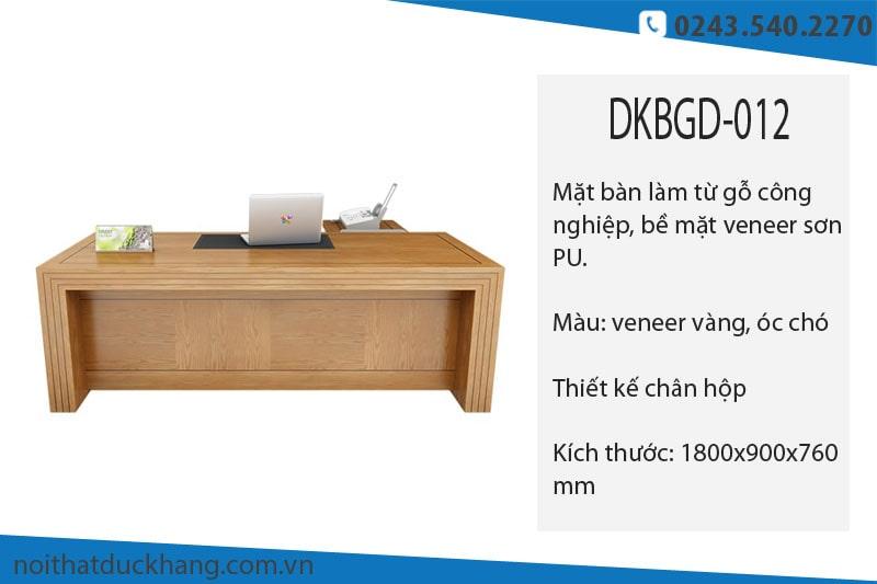 Những mẫu bàn giám đốc gỗ công nghiệp đẹp nhất